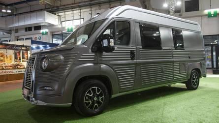 Citroën expose le nouveau Type H en Italie