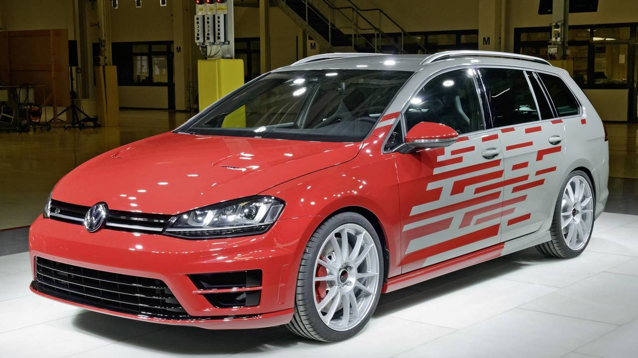 VW Golf R Variant Performance 35 konsepti
