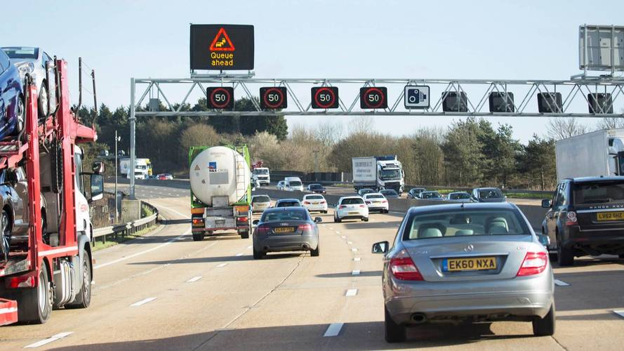 Latest section of M1 smart motorway opens