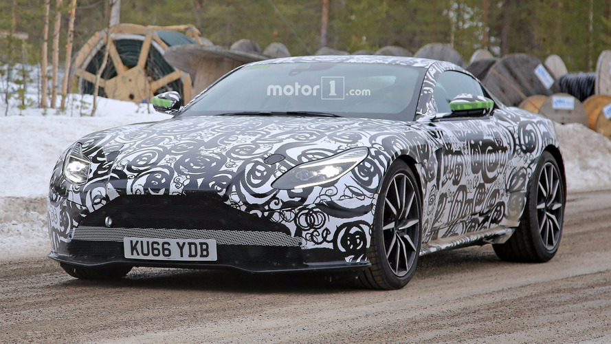 Hot Aston Martin DB11 S caught testing