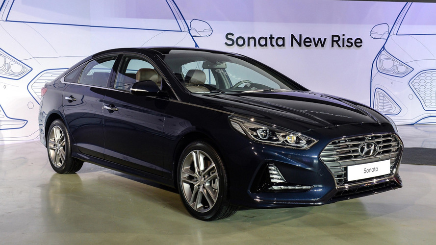 Redesigned 2018 Hyundai Sonata Coming to New York Show