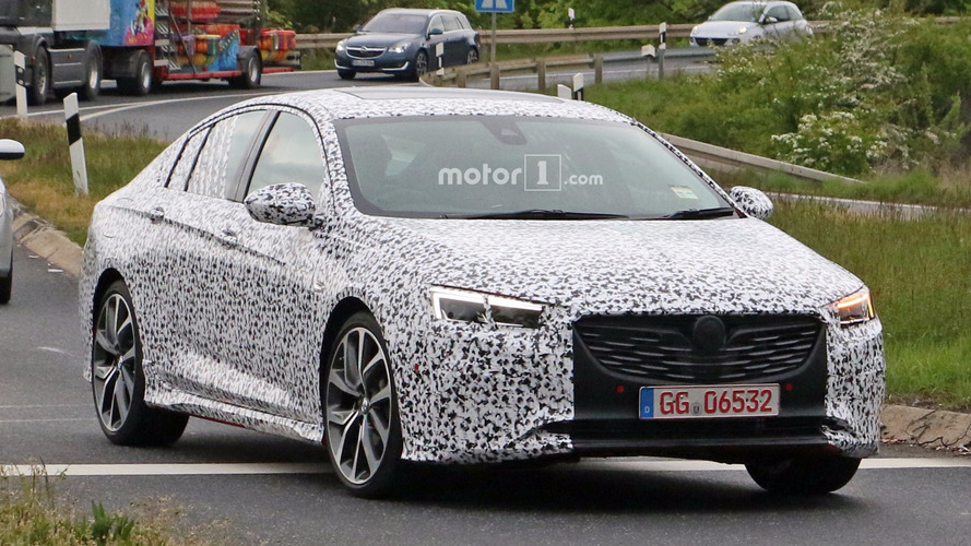 Spied Holden Commodore Might Actually Be An Opel Insignia OPC