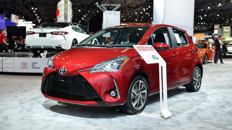 2017 Toyota Yaris facelift