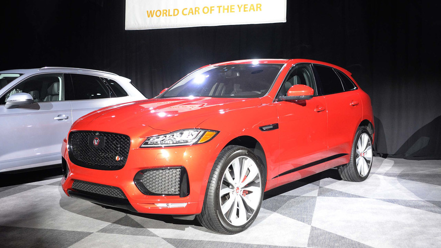 Jaguar F-Pace é eleito World Car of the Year em 2017