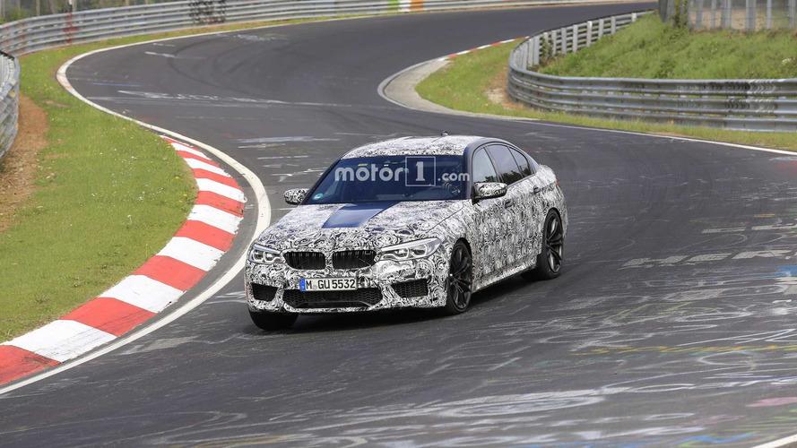 2018 BMW M5 Spied Testing At The Nürburgring
