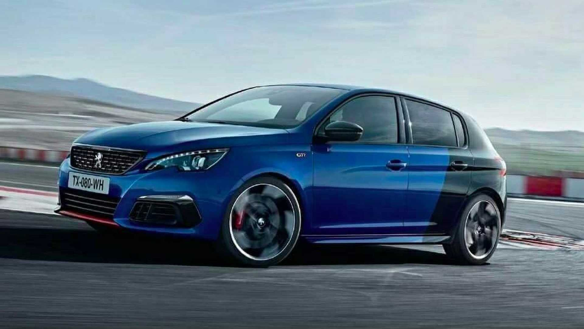 peugeot 308 gti facelift photo 39 accidentally 39 published. Black Bedroom Furniture Sets. Home Design Ideas