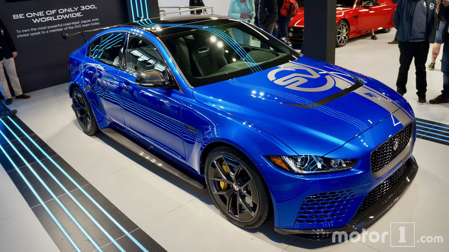 Jaguar XE SV Project 8 Makes First Public Appearance At Goodwood