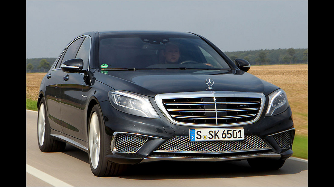 4. Platz: Mercedes-AMG S 65 lang