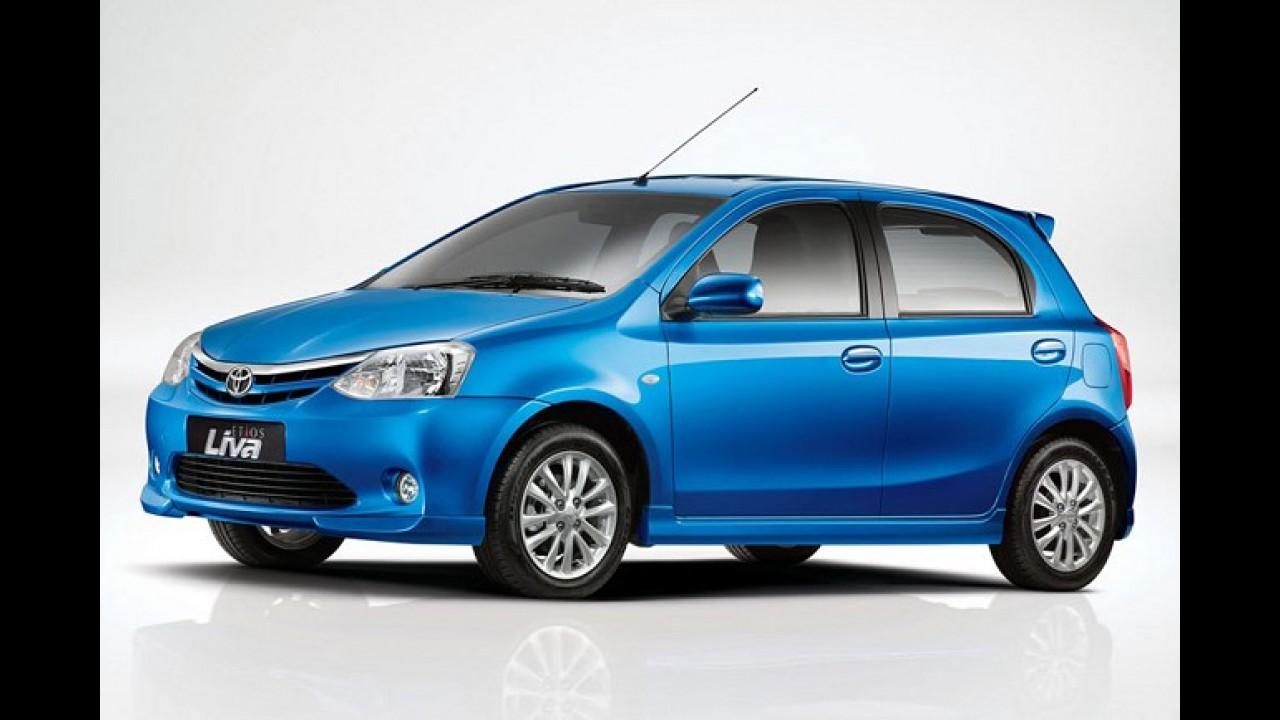 Toyota terá modelo menor que o Etios no Brasil