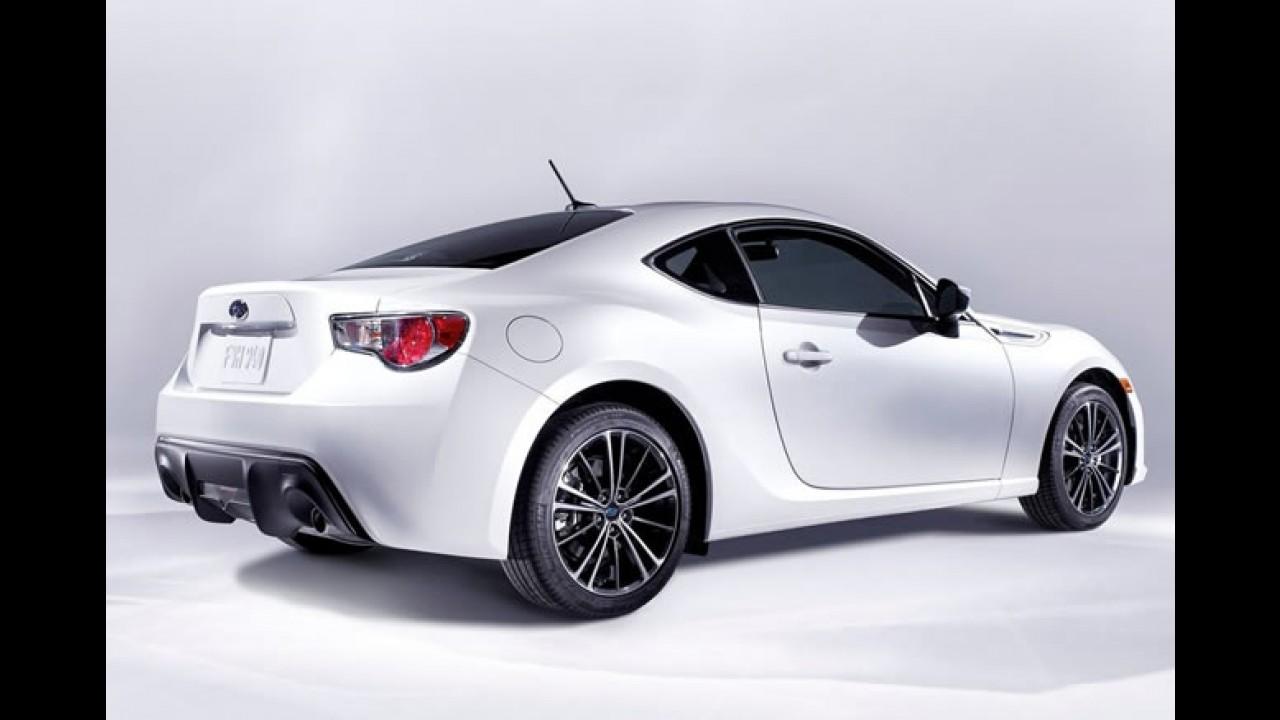 Subaru BRZ 2013 é revelado oficialmente