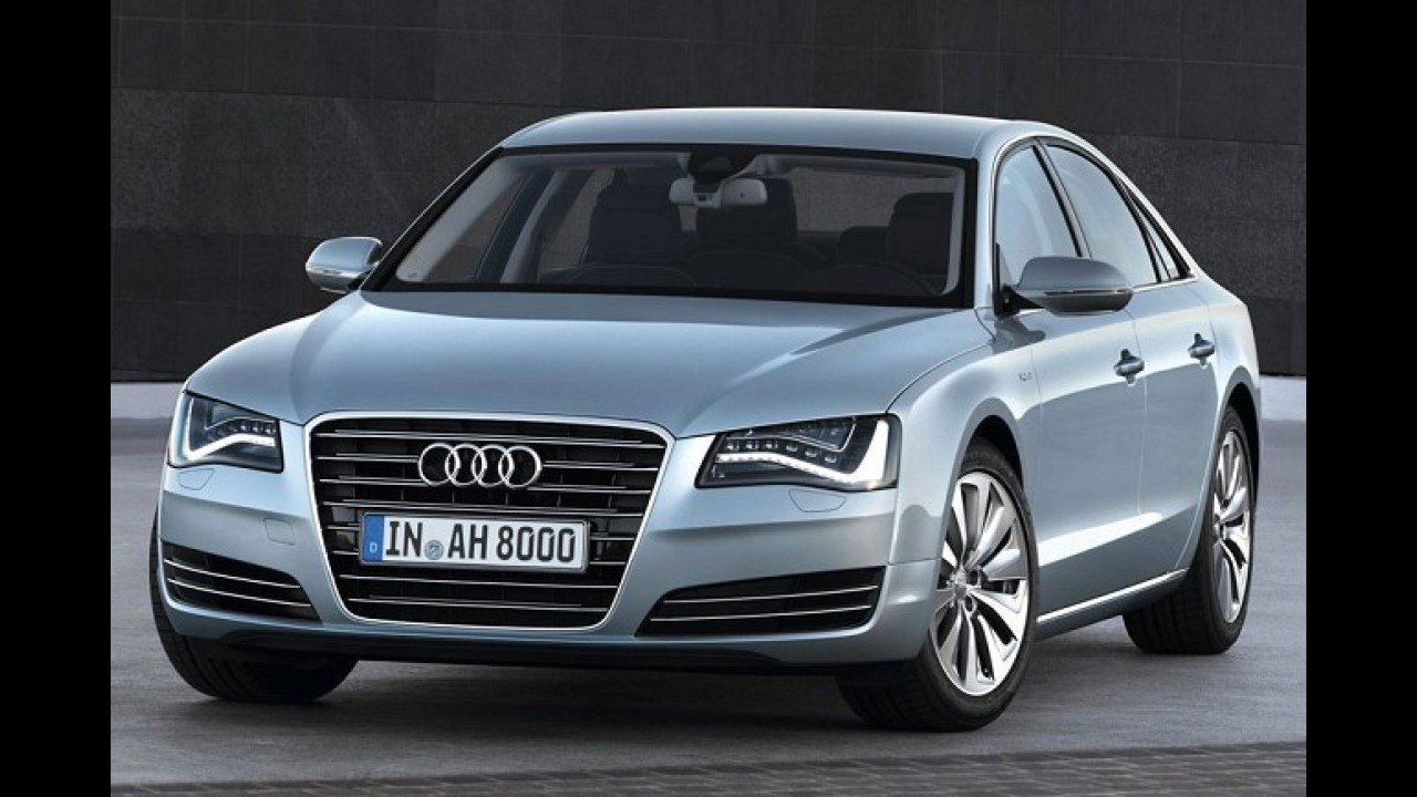 Audi lançará A8 Hybrid em Frankfurt - Modelo com motor 2.0 TFSI promete média de 15,6 km/l