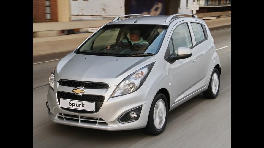 Chevrolet lançará sedã compacto com menos de 4 metros em 2017