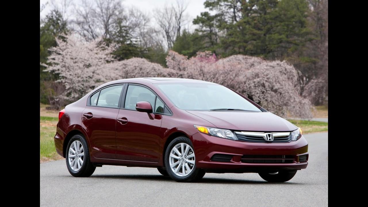 Pela terceira vez: Honda remarca lançamento do Novo Civic no Brasil para o fim do mês