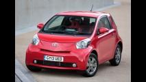 Toyota iQ pode seguir passos do Cygnet e deixar de ser produzido