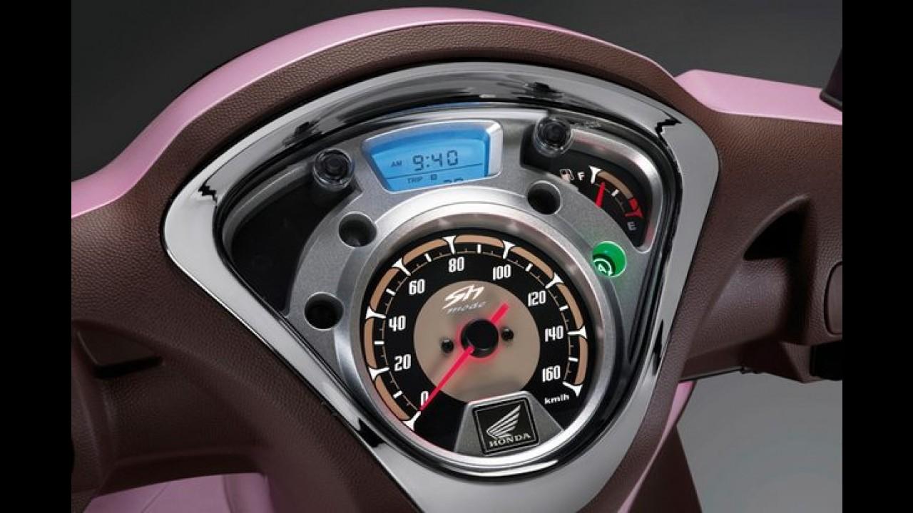 Europa: Honda lança scooter SH Mode 125 e promete consumo de 50 km/l