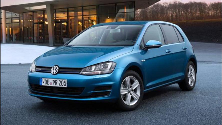 Volkswagen Golf TGI BlueMotion, nuove foto a metano