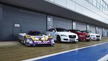 Jaguar XJR meets the XJR9-LM