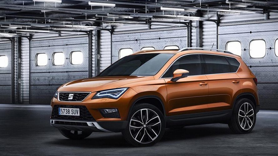 SEAT Ateca SUV first official pics are out