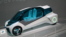 Toyota FCV Plus concept shows its futuristic looks in Tokyo