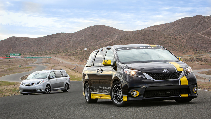Toyota Sienna R-Tuned Concept unveiled at SEMA