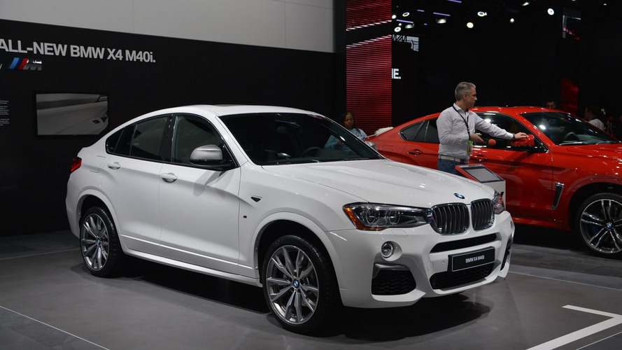 BMW X4 M40i bows in Detroit with 360 hp [LIVE VIDEO]
