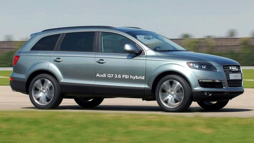 Audi Announces Q7 Hybrid for Late 2008