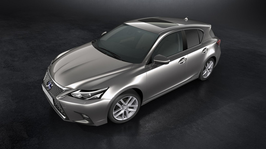 2018 Lexus CT 200h Receives Subtle Facelift Again
