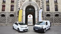 Renault électrique Garde Républicaine