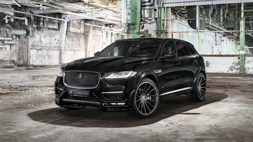 Hamann Jaguar F-Pace isn't pretty but does have 410 hp