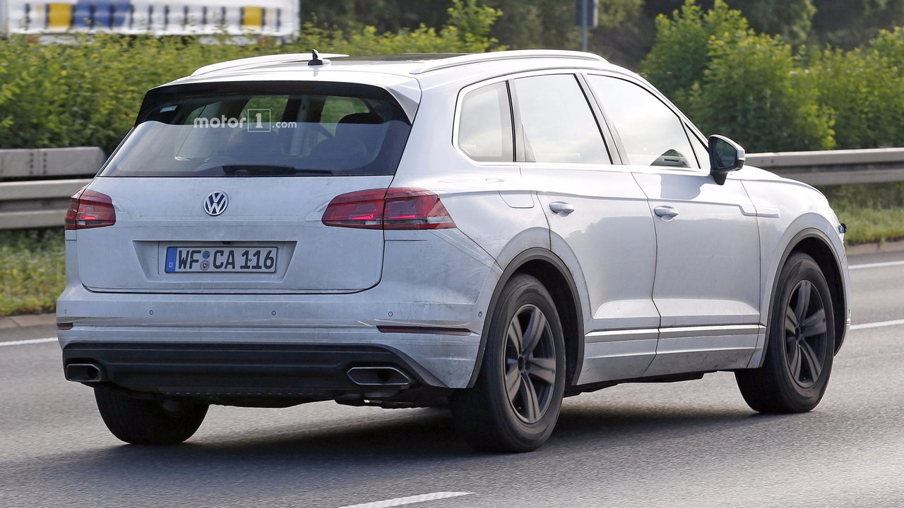 2018 Vw Touareg Returns In New Revealing Spy Shots