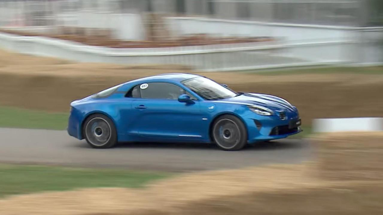 Alpine A110 Goodwood Festival of Speed