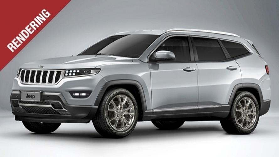 Futuro topo de linha da Jeep, Grand Wagoneer é antecipado por projeção