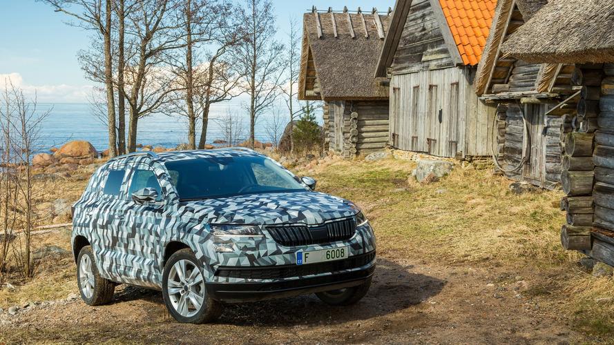 Le Škoda Karoq officiellement annoncé