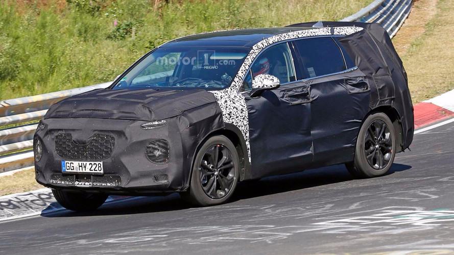 Flagra! - Hyundai Santa Fe 2019 será um