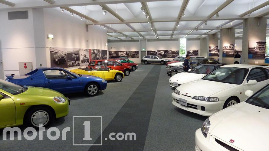 Colección de automóbiles Honda Hall Motegi