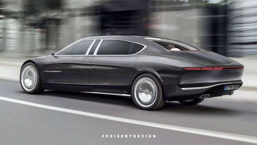 2020 Mercedes-Maybach 850 Landaulet tasarım yorumu
