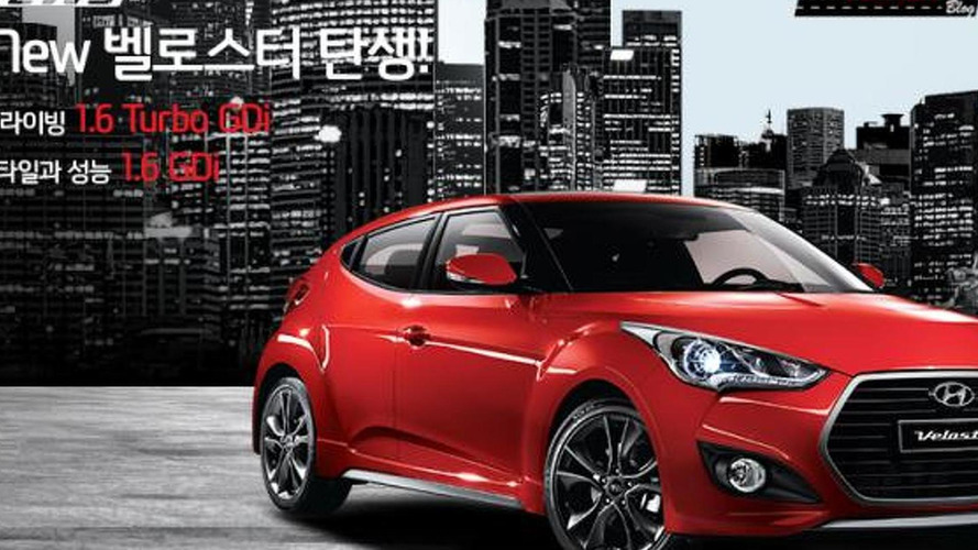 Hyundai Veloster Turbo facelift launched in South Korea with seven-speed dual-clutch gearbox