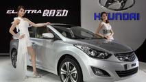 Hyundai Elantra becomes Langdeng for Chinese market