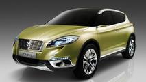Suzuki S-CROSS concept debuts at Paris Motor Show
