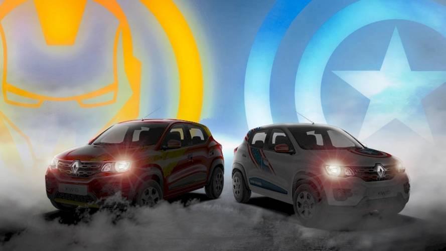 Renault Kwid Marvel Avengers Edition ganha primeiros teasers