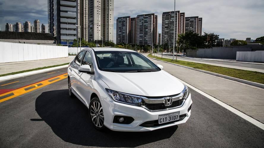 Honda lança City 2018 com LEDs, mas sem ESP - Veja itens e preços