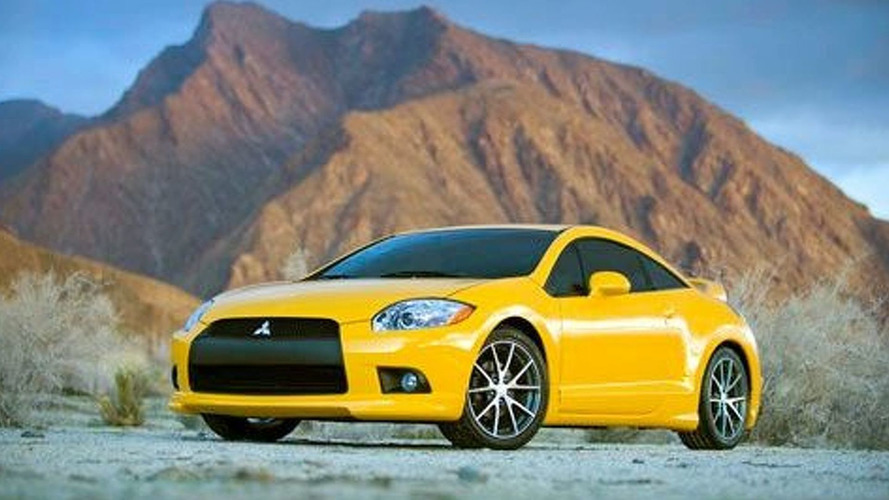 2009 Mitsubishi Eclipse Coupe and Spider Break Cover for Chicago Debut