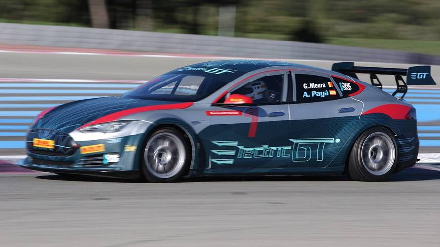 Tesla Model S Gets World's First Electric Circuit Race Series Approval