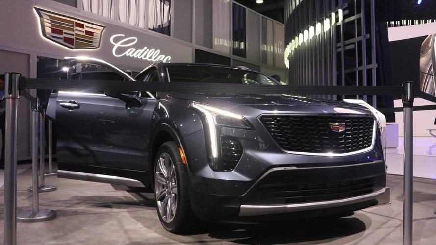 2019 Cadillac XT4 at the 2018 New York Auto Show photo