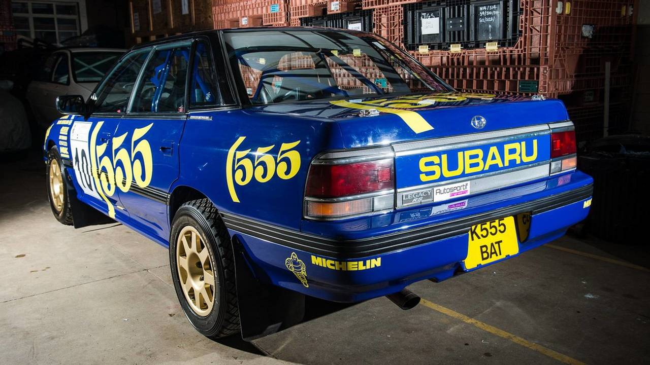1993 Subaru Legacy RS Group A Ex-Prodrive Rally Car for sale ...