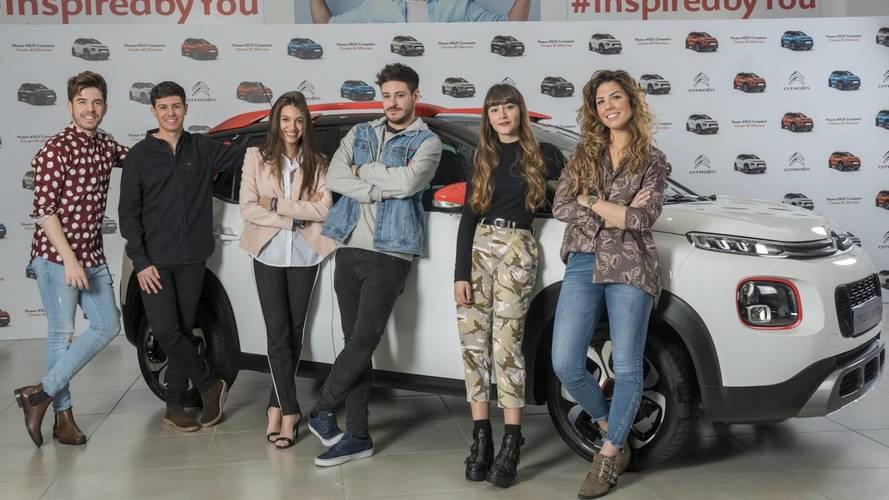 Citroën C3 Aircross 2018: nuevos embajadores de Operación Triunfo