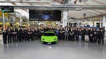 Lamborghini Huracan production milestone