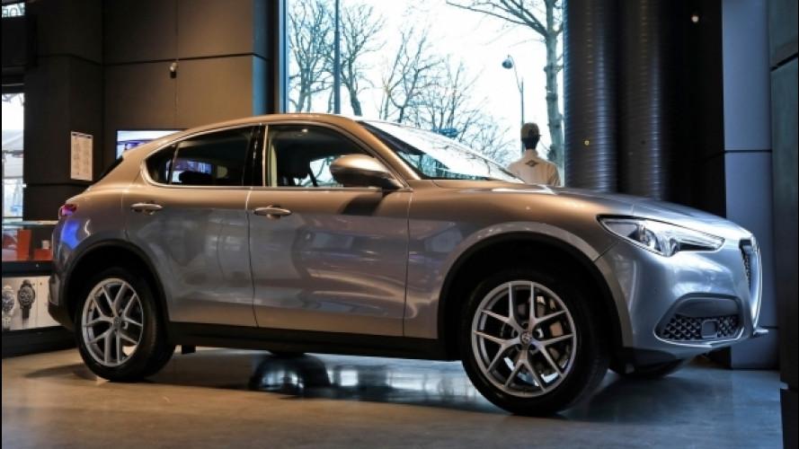 Alfa Romeo Stelvio è già in mostra a Parigi