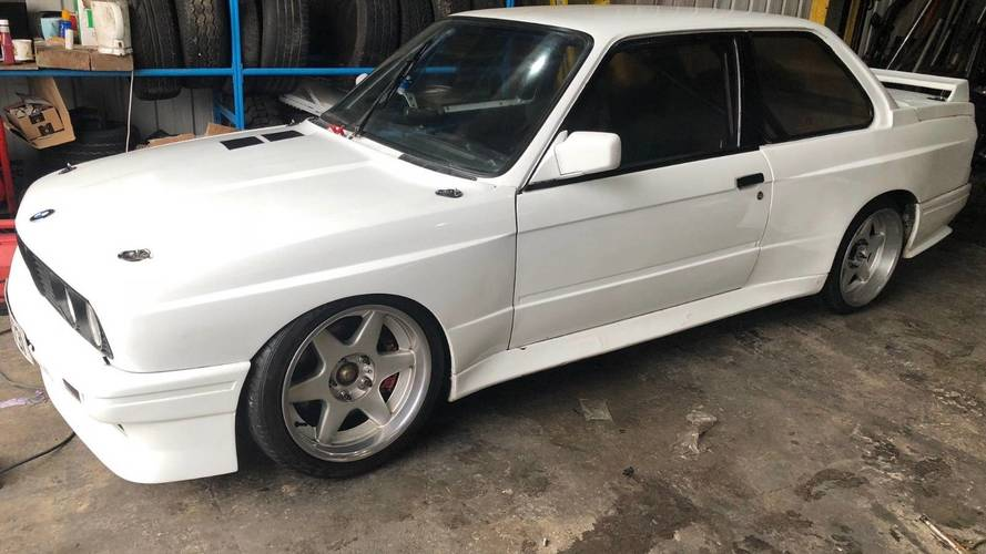 BMW E30 With Mid-Mounted Supercharged Honda S2000 Engine For Sale