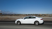 Jaguar XF diesel goes across America with just four fuel stops
